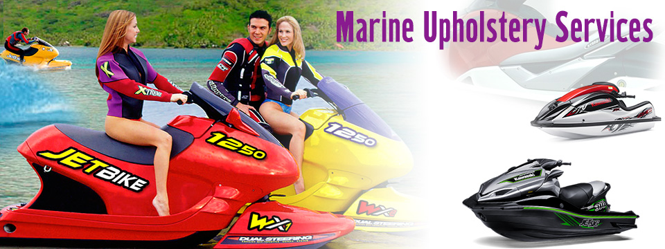 Marine Upholstery Services For Jets Skis Yachts Ang Boats In Los Angeles California